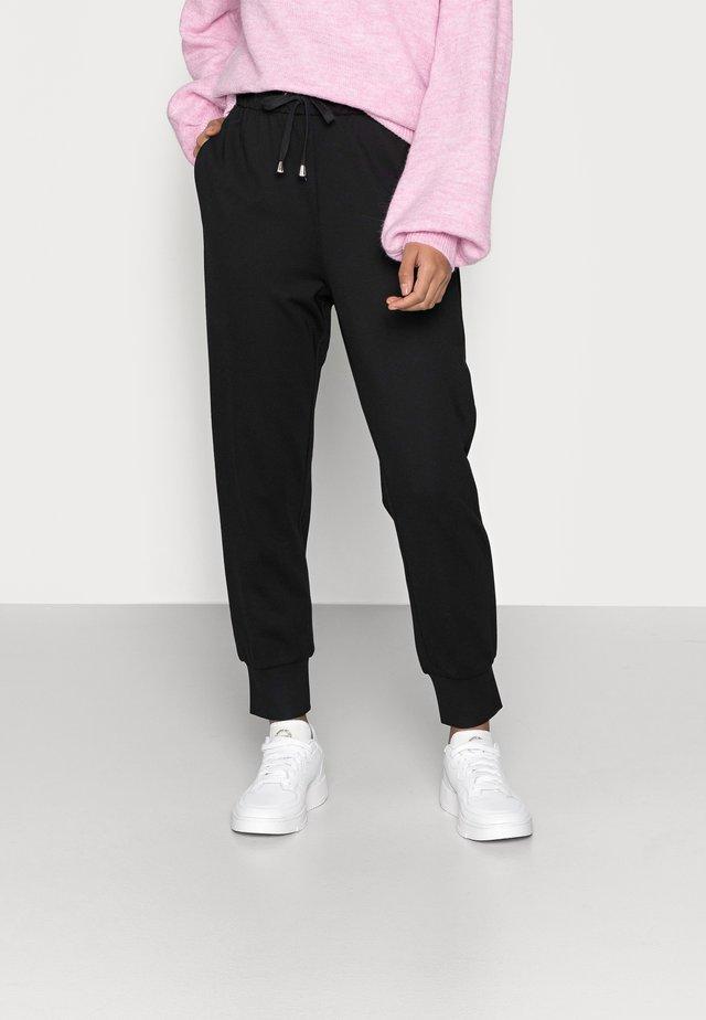 ONLPOPTRASH PANT - Trousers - black