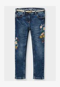 C&A - Slim fit jeans - denim dark blue - 0