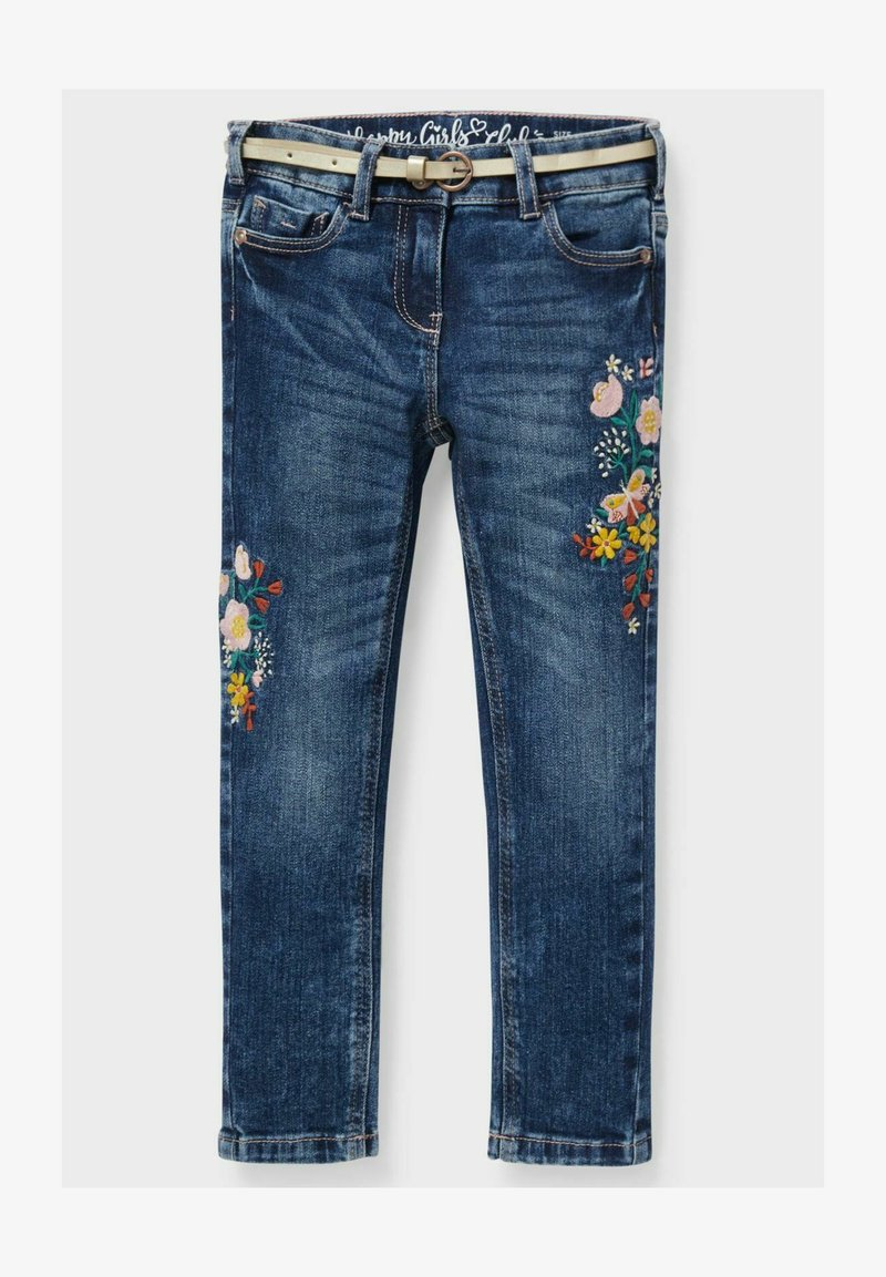 C&A - Slim fit jeans - denim dark blue
