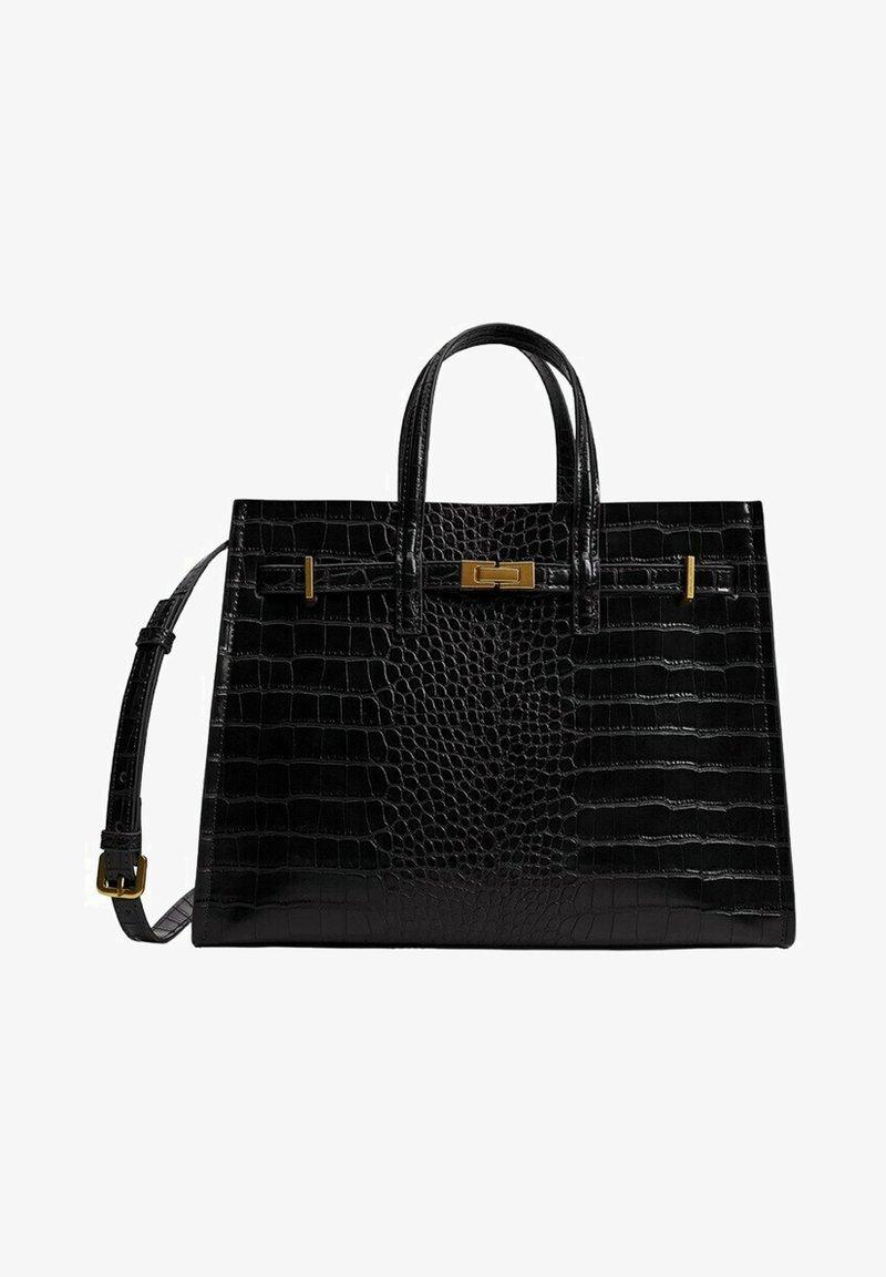 Mango - Handbag - svart