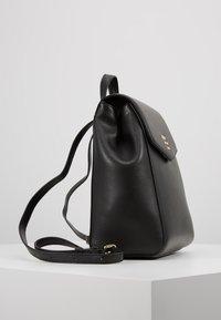 DKNY - WHITNEY FLAP BACKPACK - Plecak - black gold - 3