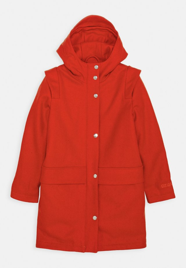 HAPPY COW - Classic coat - spicy red