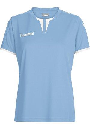 CORE SS - T-shirt print - argentina blue pr