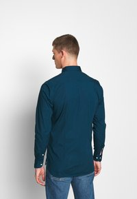Tommy Hilfiger - SLIM STRETCH - Shirt - blue - 2