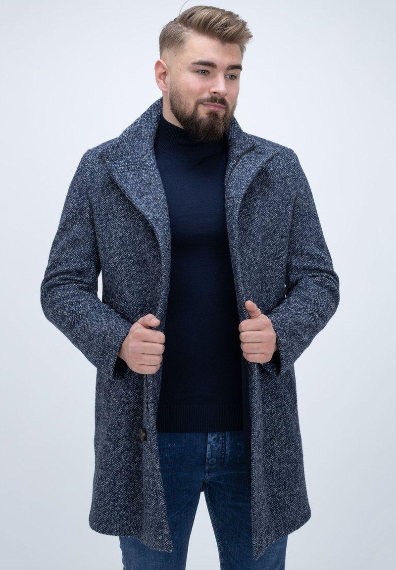 Bugatti - Classic coat - blau