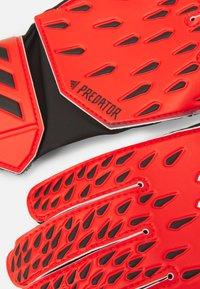 adidas Performance - UNISEX - Goalkeeping gloves - red/solar red/black - 1