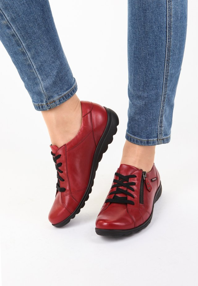 CAMILIA - Casual lace-ups - oxblood