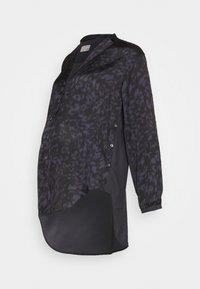 GLOWE - SIDE HUSTLE NURSING - Button-down blouse - grey - 0