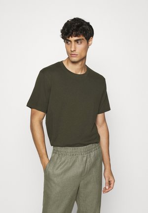 Basic T-shirt - green dark