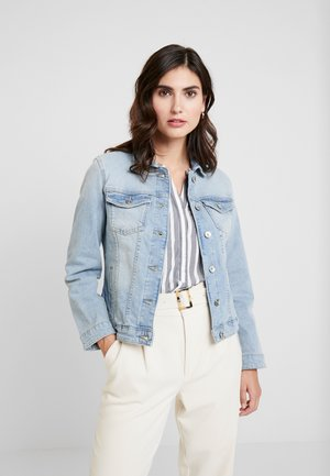 AUTHENTIC - Denim jacket - used light stone blue denim