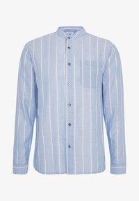 Brooklyn Supply Co. - GRANDAD COLLARED STRIPE SHIRT - Košile - blue - 4