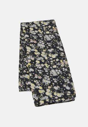 PCAVONJA LONG SCARF BOX - Sjal - black/small flowers