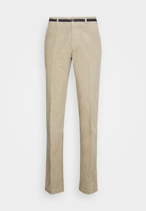 TORINO OXFORD - Trousers - light beige grey