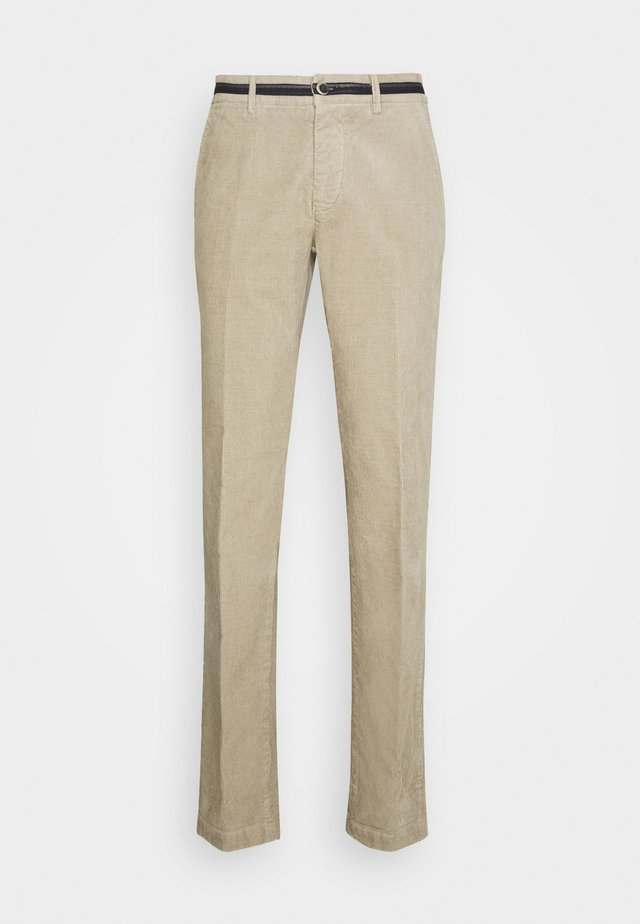 TORINO OXFORD - Pantalon classique - light beige grey