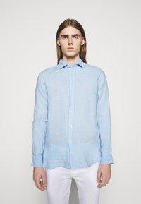 120% Lino - SLIM FIT - Shirt - celeste - 0