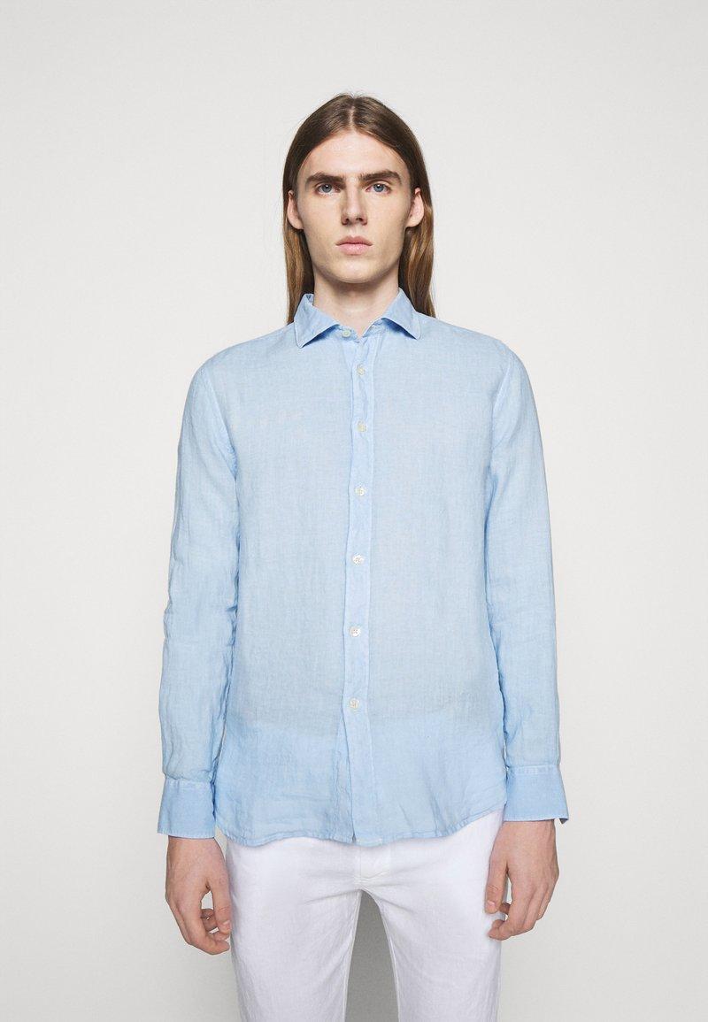 120% Lino - SLIM FIT - Shirt - celeste
