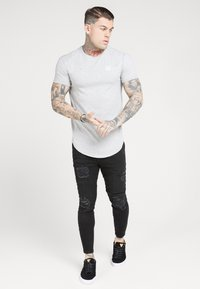 SIKSILK - DISTRESSED SUPER  - Jeans Skinny Fit - black - 1