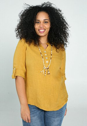 Long sleeved top - ocher