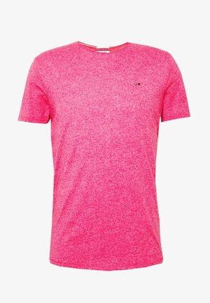 ESSENTIAL JASPE TEE - Basic T-shirt - bright cerise pink