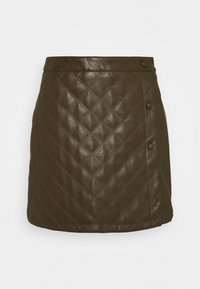 Glamorous Petite - LADIES SKIRT  - Mini skirt - khaki - 0