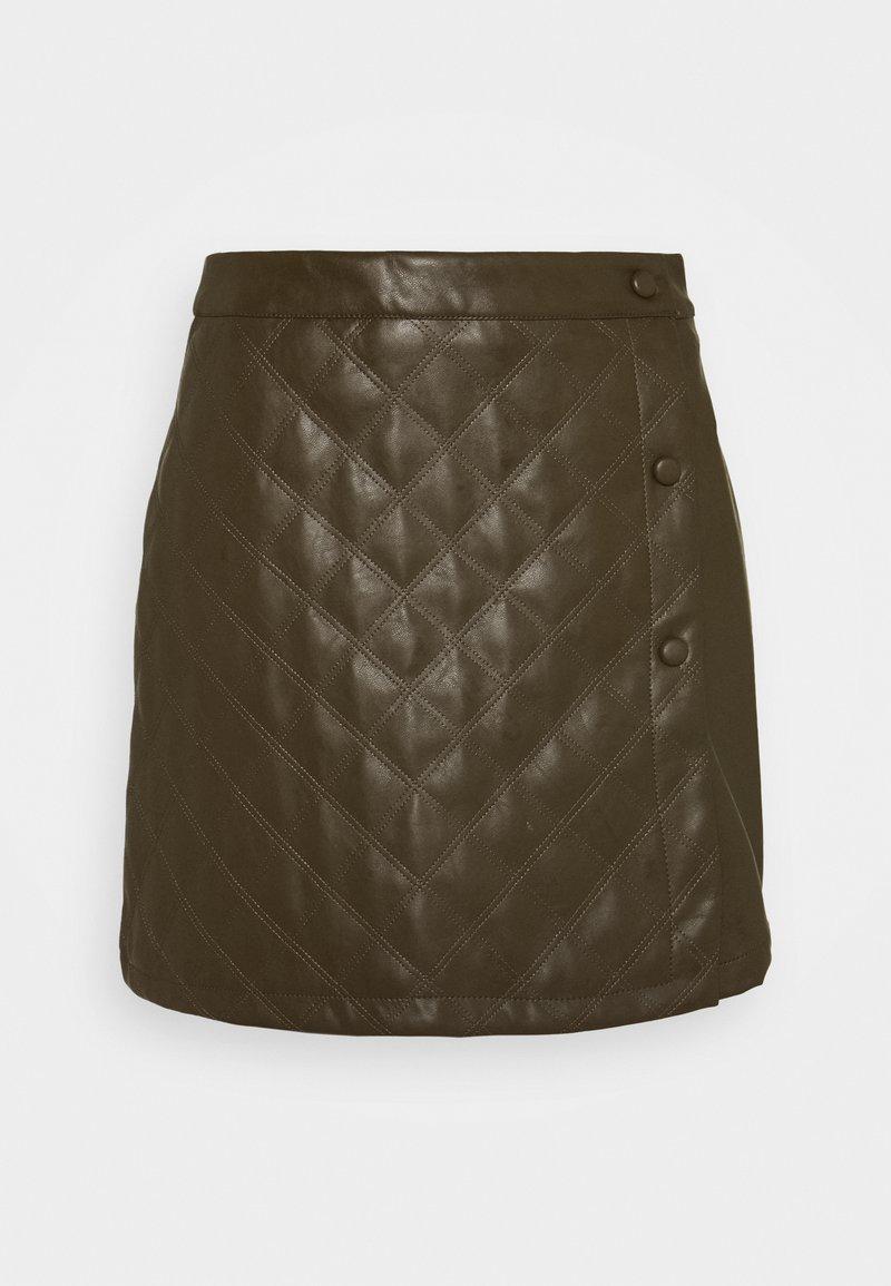 Glamorous Petite - LADIES SKIRT  - Mini skirt - khaki