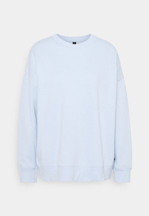 LONG SLEEVE CREW - Sweatshirt - baby blue marle
