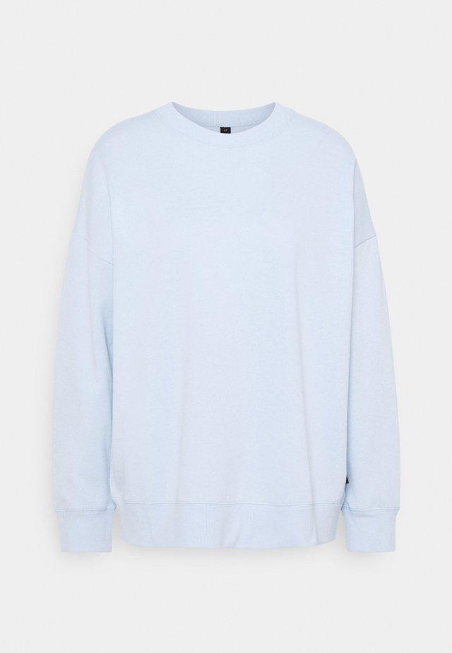LONG SLEEVE CREW - Sweatshirt - baby blue marle