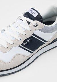 Pepe Jeans - CROSS 4 SAILOR - Zapatillas - white - 5