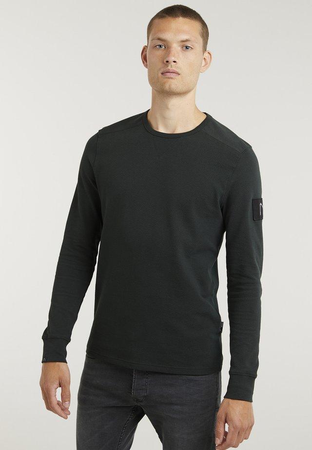 FIBRE - Basic T-shirt - green