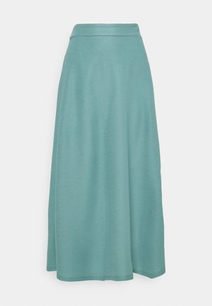A-line skirt - dark turquoise