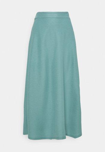 Áčková sukně - dark turquoise