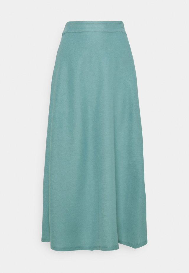 A-line skirt - dark turquoise