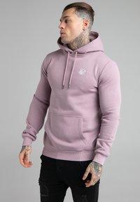 SIKSILK - BASIC OVERHEAD HOODIE UNISEX - Sweatshirt - purple - 0