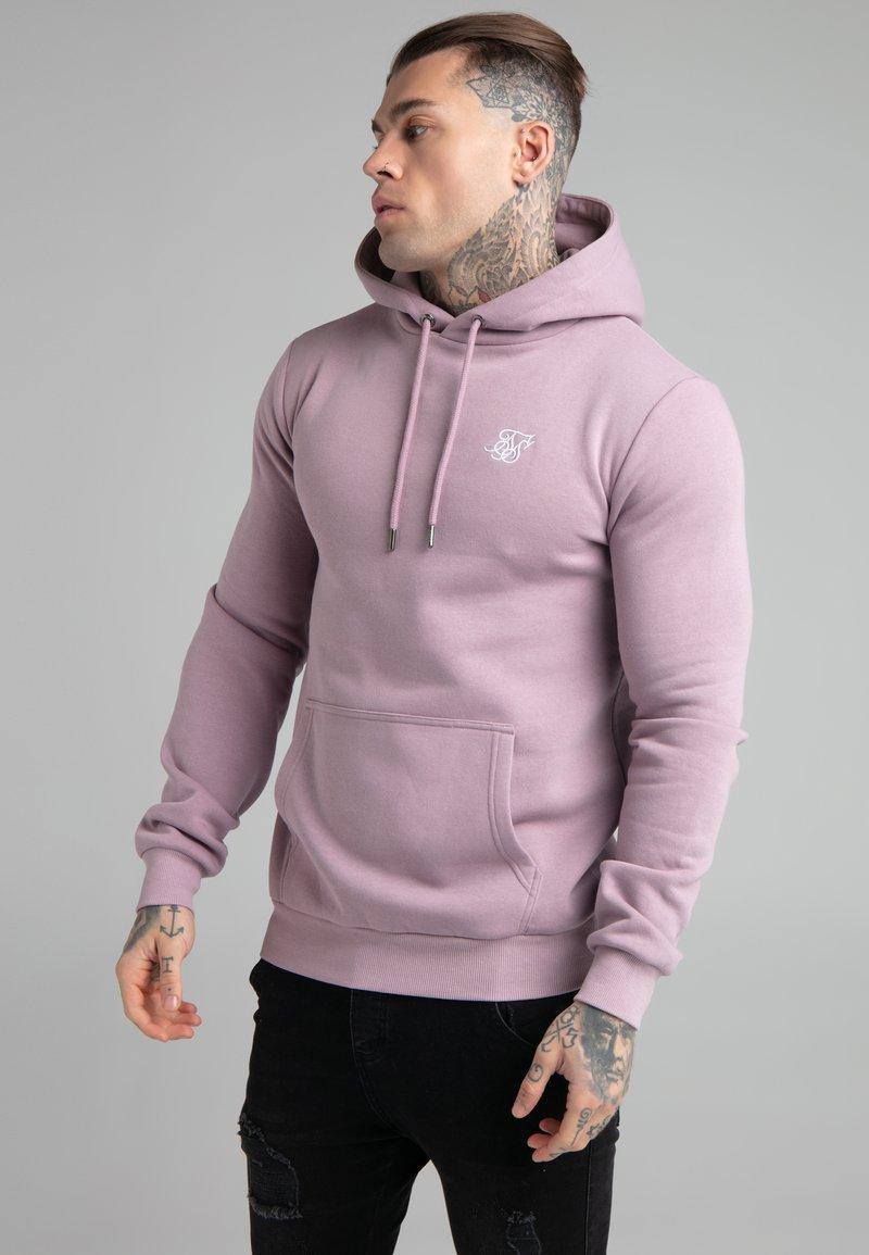 SIKSILK - BASIC OVERHEAD HOODIE UNISEX - Sweatshirt - purple
