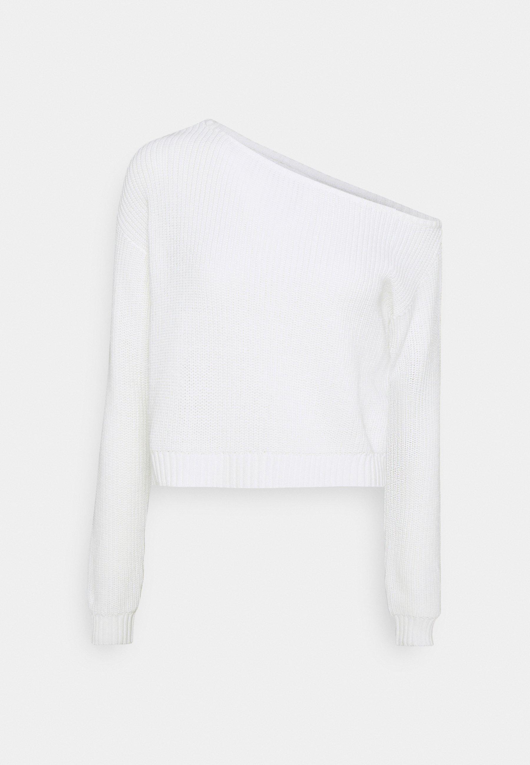 Femme CROPPED OFF SHOULDER - Pullover