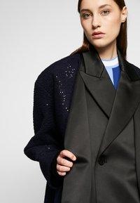 KARL LAGERFELD - SEQUIN COAT  - Classic coat - navy/black - 5