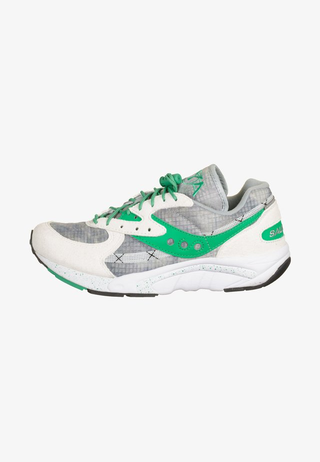AYA - Sneakers laag - white/green/tie dye