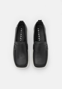 Joshua Sanders - EXCLUSIVE SQUARED LOAFER - Trainers - black - 4