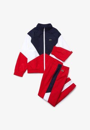Tracksuit - bleu marine / blanc / rouge
