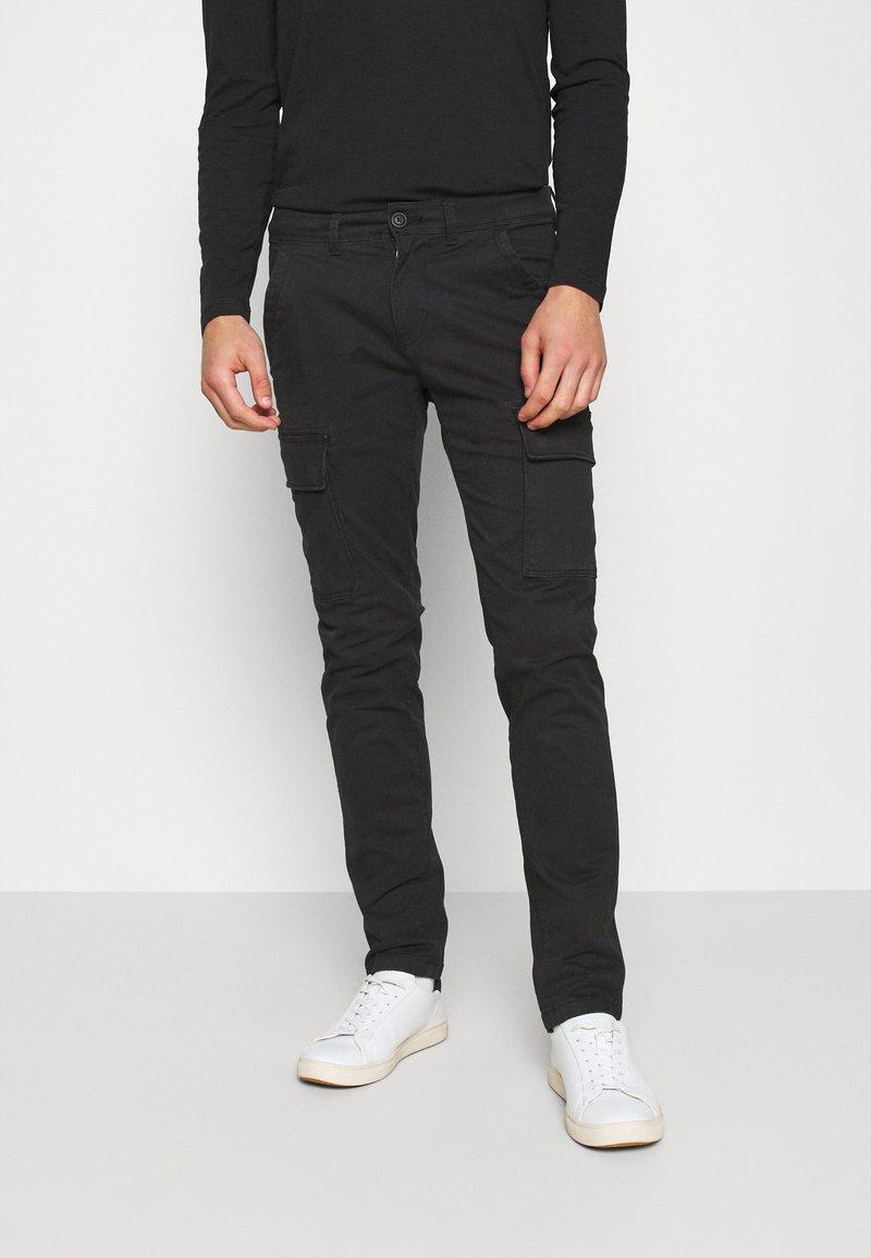 Napapijri - MOTO WINT - Cargo trousers - black