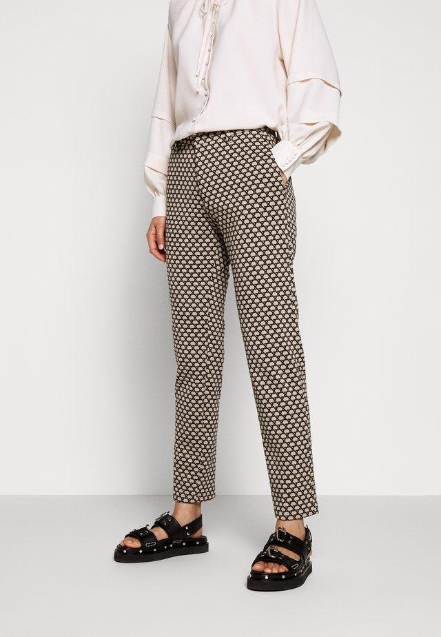 SIGHT - Trousers - braun