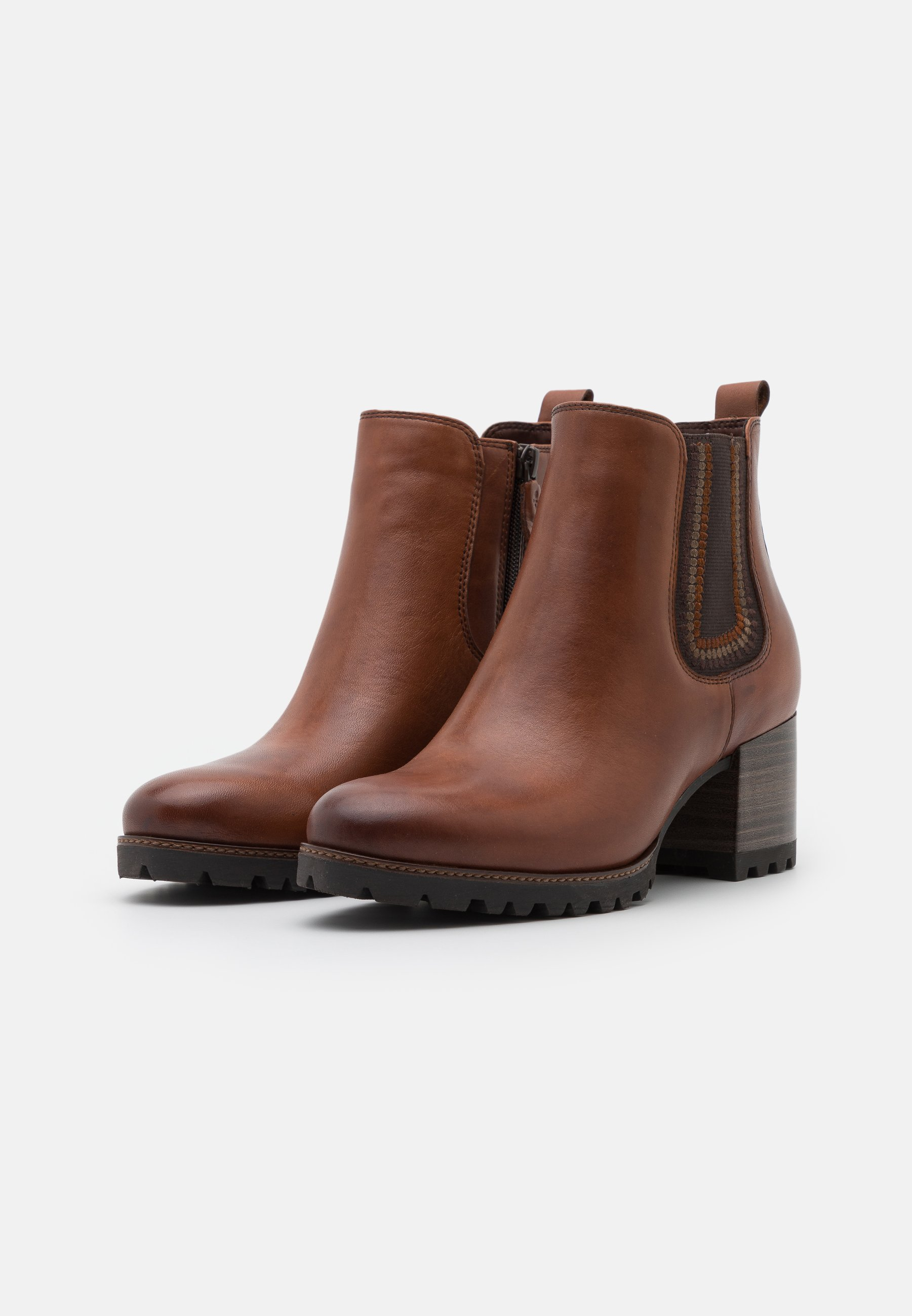 Tamaris Pure Relax Ankle Boot cognac