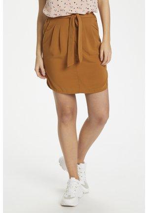 ANDREASZ  - Mini skirt - brown