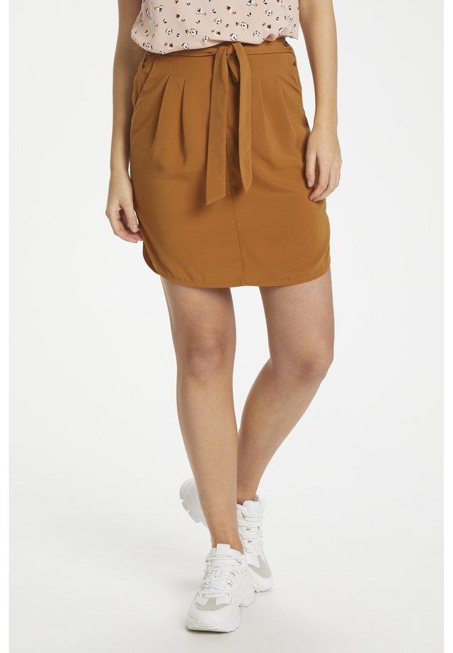 ANDREASZ  - Minifalda - brown