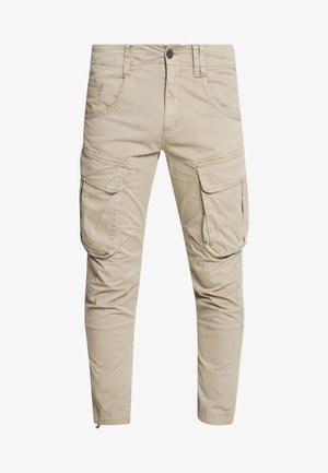 RUFO - Pantaloni cargo - sand