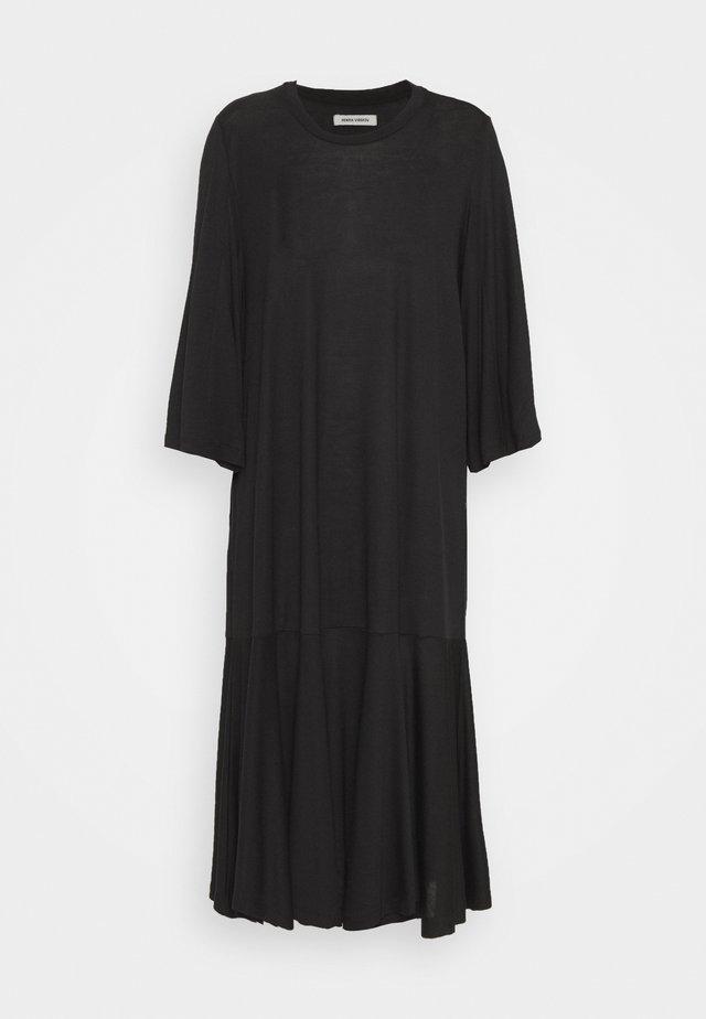 STREAM DRESS - Jerseyjurk - black