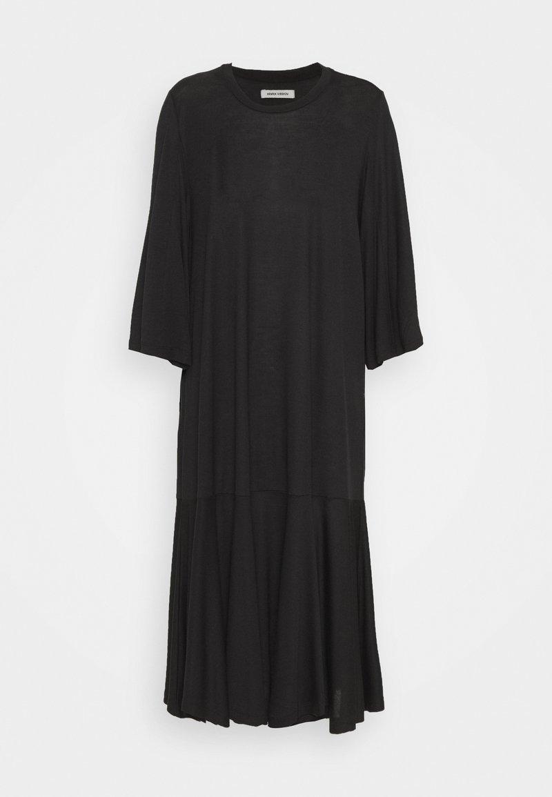Henrik Vibskov - STREAM DRESS - Žerzejové šaty - black