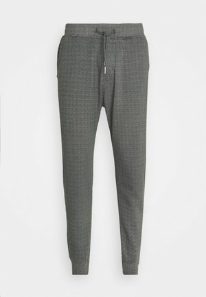 HOUNDSTOOTH STRETCH TERRY - Bukser - grey