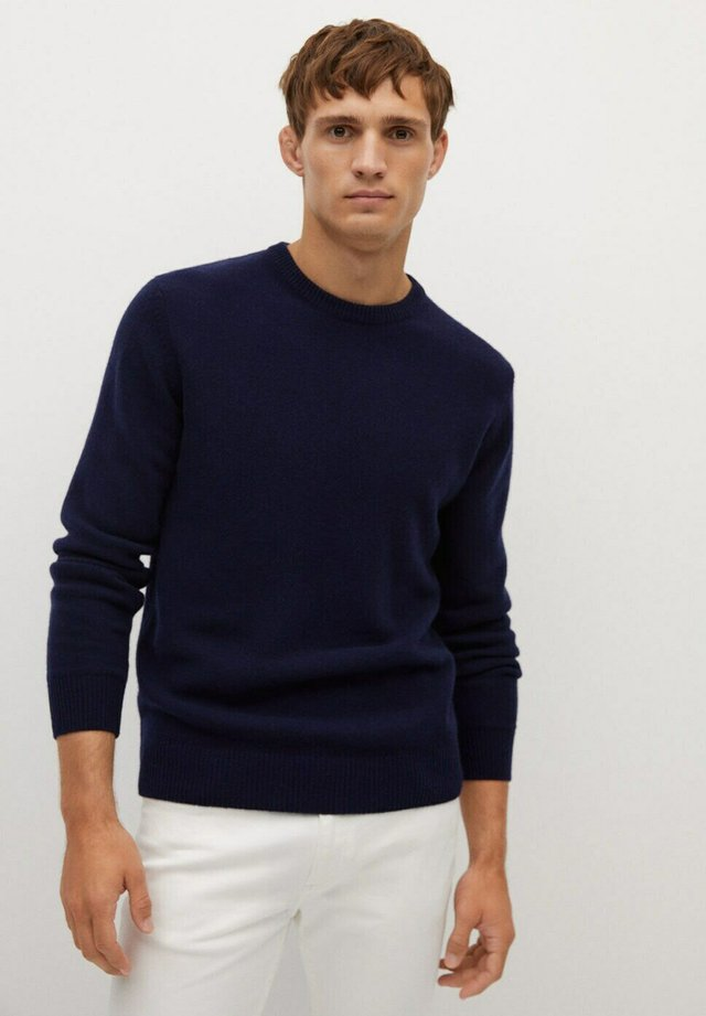 CASHC - Strikkegenser - marineblau