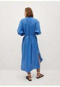 Mango - Skjortekjole - blau - 2